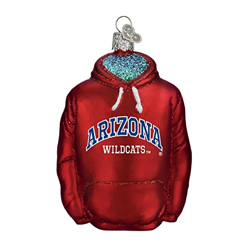 Old World Christmas Arizona University Glass Blown Ornaments for Christmas Tree Hoodie
