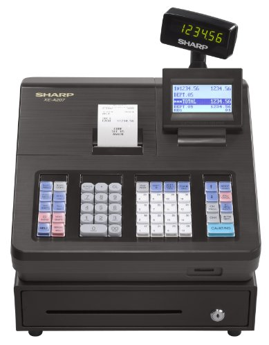 Sharp XEA207 Menu Based Control System Cash Register