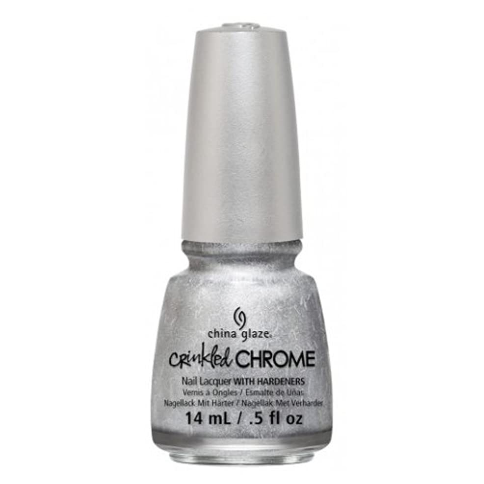 超越する下までCHINA GLAZE Nail Lacquer - Crinkled Chrome - Aluminate (並行輸入品)