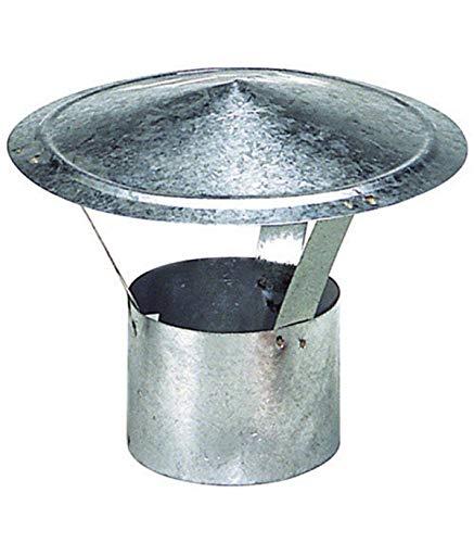 Wolfpack 22010099 Sombrero Galvanizado Para Estufa de 250 mm.