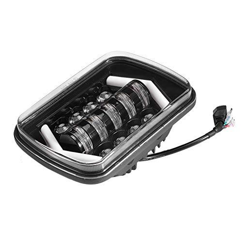 Faros delanteros de 5x7 pulgadas LED de haz alto y bajo cuadrado Super brillante para automóviles y camiones universales