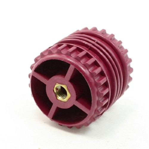 GCS50 * 50 8 mm diameter 50 mm schroefdraad hoge Dark Red Bus Bar Support Isolator