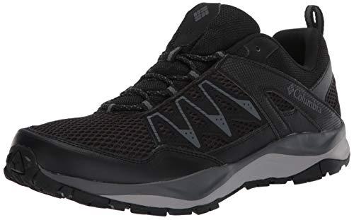 Columbia Men's WAYFINDER II Hiking Shoe, Black/Graphite, 8.5 Regular US