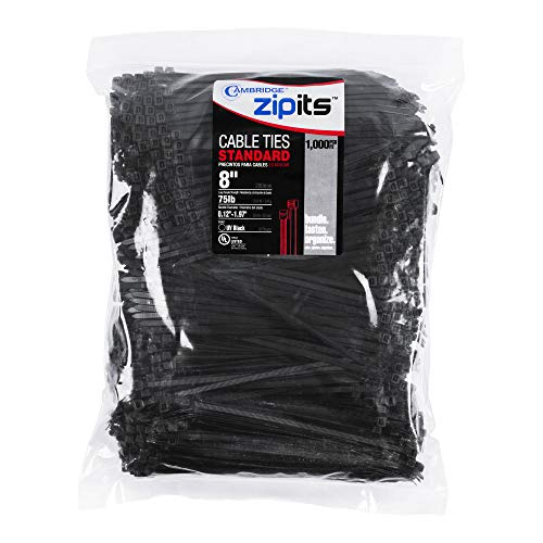 1000 count zip ties - 7