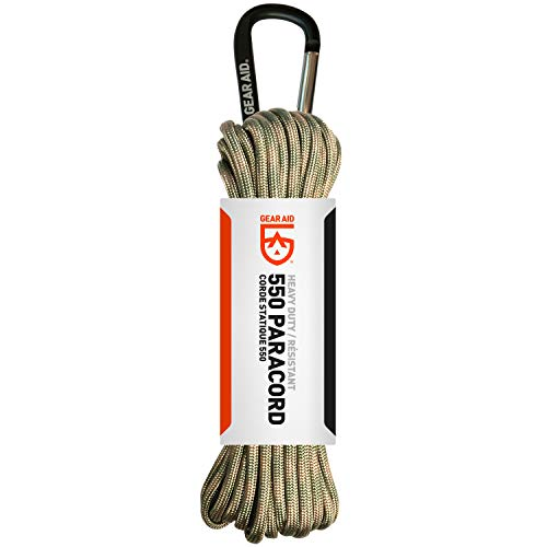 Our #10 Pick is the Gear Aid 550 Paracord and Carabiner Survival Gear