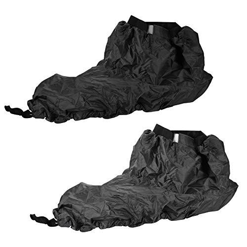 LLDDSS Falda de pulverización Kayak Cabina Cubierta Cubierta de Cubierta SpraySkirt Waterproof Storage Kayaking Canoaing Rafting Accesorio (Color : Black)