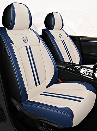 Cubiertas de asiento de automóvil Cubierta universal del asiento del automóvil de juego completo de cuero resistente al desgaste impermeable para Audi A3 / A4 / A5 / A6 / A8 / Q3 / Q5 / RS4,D