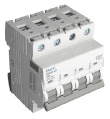 Efapel modus 55 - Interruptor 4 polos 250/415v 80a modus