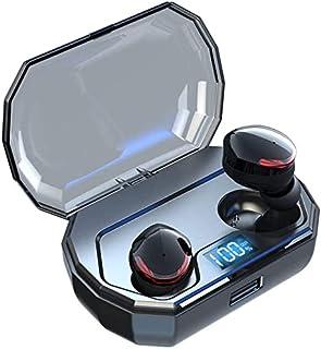 RCH Bluetooth-hörlurar Trådlösa öronsnäckor Bluetooth-hörlurar 5.0 Hd stereo svettsäker beröringskontroll brusreducerande ...