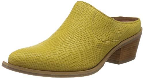 FLY London Ivot573fly, Zuecos Mujer, Amarillo (Yellow 003), 38 EU