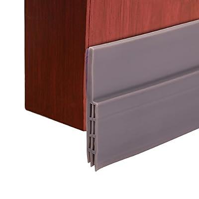 "COCODE Door Weather Stripping Bottom Threshold Gap Self-adhesive Seal Strip?2"" W x 39.5"" L"