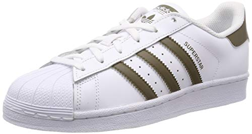 adidas Originals Men's Superstar Sneakers white Size: 7.5 UK