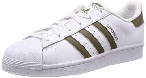 adidas Originals Men's Superstar Sneakers white Size: 7.5 UK