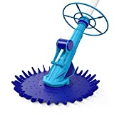 AIPER SMART Pool Vacuum Cleaner, Pool Suction Vacuum Sweeper for Inground Pools, Climb Wall Suction Side Kreepy Krawly, Automatic Crawler Cleaner with 32ft Hoses (20pcs) Work with 0.75-1.5HP Pumps