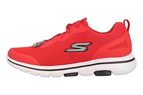Skechers GO Walk 5 Squall Sportschuhe in Übergrößen Rot 216011 RED große Herrenschuhe, Größe:47