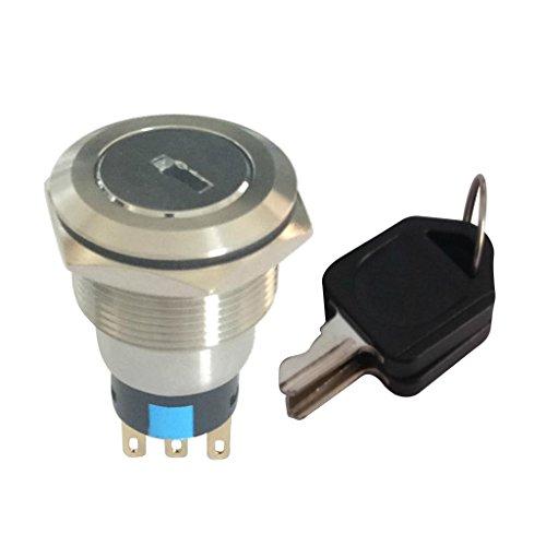 Milageto Cerradura Electrónica del Interruptor Dominante Electrónico con./desc. 22m M del - 2 Llaves 2no + 2nc