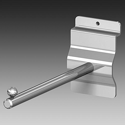 Soporte estante para panel lamas, ø varilla 10 mm. long. 160 mm., 1 unidad