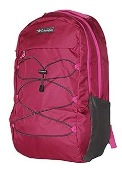 Columbia Unisex Bridgeline 26L Laptop Student School Backpack  Dark Raspberry