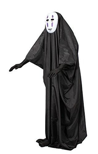 『カオナシフルセット マスク&ロング手袋付き コスチューム フリーサイズ』の4枚目の画像