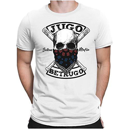 PAPAYANA - Jugo Betrugo - Herren Fun T-Shirt - Regular Fit XL Weiß