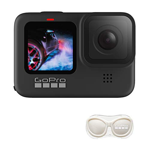 【GoPro公式限定】GoPro HERO9 Black + 公式ストア限定非売品 メガホルダー(白) + ステッカー 【国内正規品】