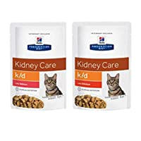 MADE FROM TENDER PIECES OF MEAT OR FISH IN GRAVY. It is especially suitable for cats which suffer from renal disease. Should your pet become ill, Hill's offers therapeutic nutrition for your cat with Prescription Diet products that include a wide ran...