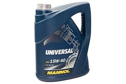 Mannol universal 15W de 40API SG/Cd motorenöl, 5L