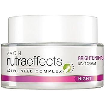Avon Nutraeffects Brightening Night Cream, 50gm (White)