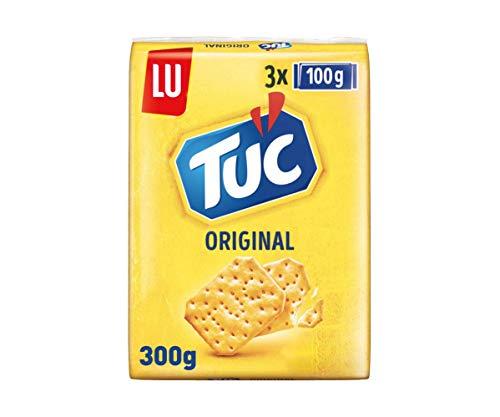 LU Tuc - Galletas Crackers Saladas Originales - Pack Ahorro de 3 x 100 g