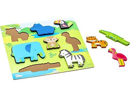 Infant Planet Puzzle Encajes Animalitos