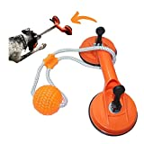 One Lucky Doggy Upgraded Double Suction Cup Dog Toy | Best Interactive Rope Puzzle Toy for Stimulation | Sturdy, Tough & Durable Dog Toy for Aggressive Chewing or Teething Puppy