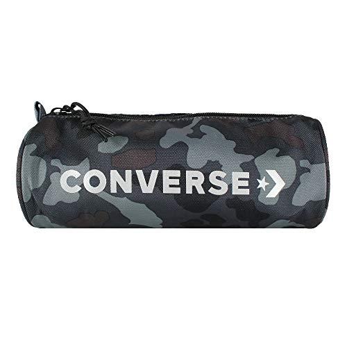 Converse Mono Camo Pencil Case Estuche, Unisex Adulto, camoblack, 1.2l