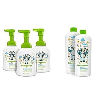 Babyganics Alcohol-Free Foaming Hand Sanitizer Fragrance Free and Alcohol-Free Foaming Hand Sanitizer Refill Fragrance Free