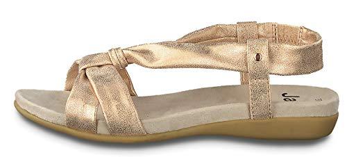 Jana 8-8-28164-24 522 - Da.-Sandalette,ROSE/GOLD Gr. 40