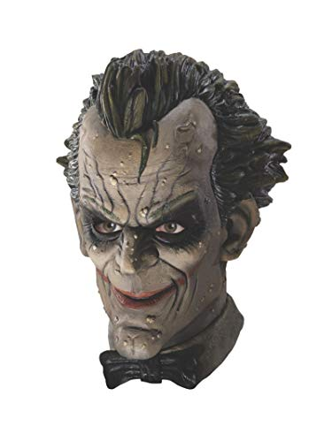 Rubie's Costume Batman Arkham City Deluxe Joker Mask, Multi-Colored, One Size