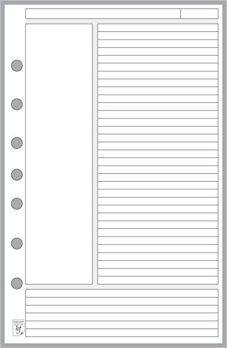 professional Classic noteliner, size, perforations 7 for Cornell staff …