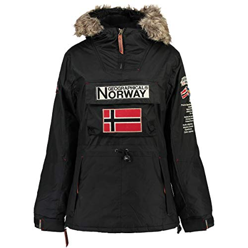 Geographical Norway Chaqueta NIÑA BOOMERA Negro, 16 Anos