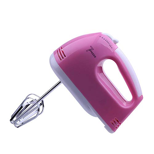 JISHIYU-S 7 velocidades de Mano Blender, Blender portátil, Cocina eléctrico Handheld Bata y Blender con el botón Turbo, Licuadora Profesional S