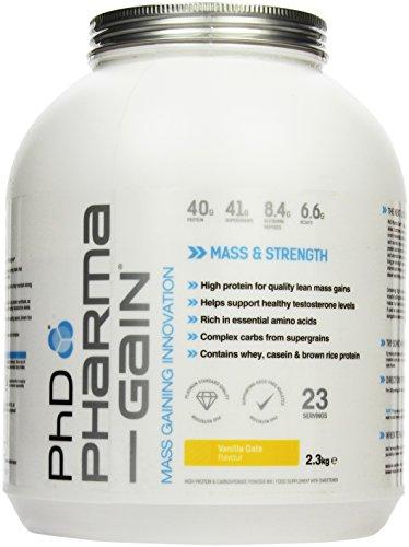 PHD Pharma-Gain - Vanilla Oats, 1er Pack (1 x 2.3 kg)
