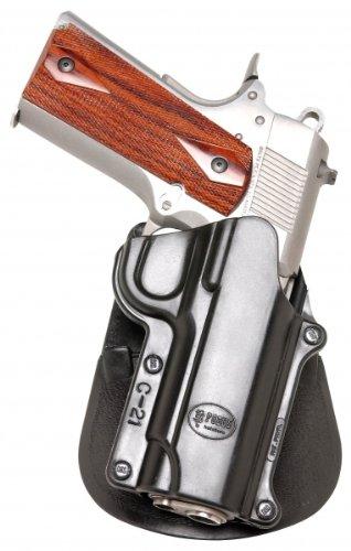 Fobus Standard Holster RH Paddle HK1 H&K Compact & USP 9mm/40 & 45, Full Size 9mm/40 / S&W Sigma Series 9/40 VE/E/G / FN49 / Ruger SR9 / Taurus Millenium .40 (Pro models refer to SP11B)