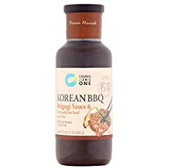 Usage: Beef, Pork, Chicken, Turkey and Sausage Instruction: Marinate meat for 1 to 8 hours for best taste. Add onions, scallions or mushrooms for more flavors. Grill or pan-fry. Product of South Korea.