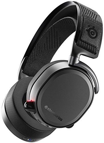 SteelSeries Arctis Pro Wireless - Casque de jeu sans fil (2.4 G & amp Bluetooth) - Pilotes de haut-parleurs haute résolution - Pour PC, mac, switch et PS4 - Noir