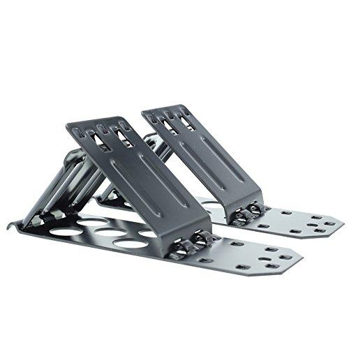 OVOS Foldable Heavy Duty Metal Steel Wheel Chock Safety...