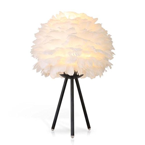 CRYGD LED-tafellamp met drie poten van ijzer, eenvoudige vloerlamp voor woonkamer