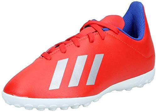 adidas Unisex-Kinder X 18.4 Tf J Fußballschuhe, Mehrfarbig (Multicolor 000), 35 1/3 EU