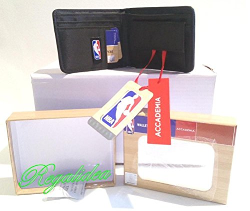 Cartera WALLET NBA BASKET NETS B oficial monedero regalo