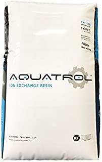Water Softener Resin 8% Cross linked 100% Ion Exchange High Quality Replacement - 1 CuFt Bag