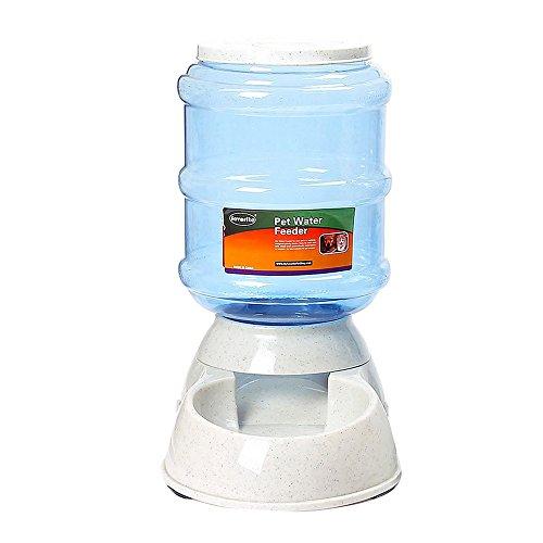 lazzykit dispensador de comida alimentación para perro gato pienso automático 3.5L