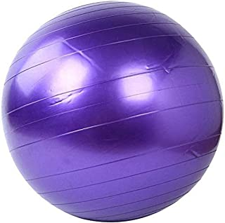 Yoga Exercise Ball Gym ball 75cm anti burst - Pilates Weight Loss Balance Core Strength Training Physical Therapy pregnanc...