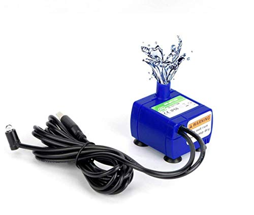 12V Low AC Voltage Drinking Pet Water Dispenser Fountain Pump Replacement Submersible for Dog Cat